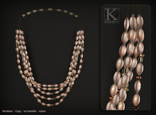 (Kunglers) Vatusi necklace - romance