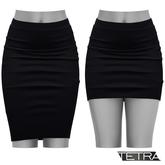 TETRA - Pencil Skirt (Black)