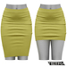 TETRA - Pencil Skirt (Lime)