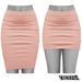 TETRA - Pencil Skirt (Rose)