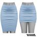 TETRA - Pencil Skirt (Sky)