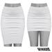 TETRA - Pencil Skirt (White)