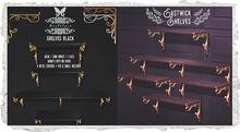 {Nostalgia} Eastwick Shelves / Shelf / Mesh / Decor / Black
