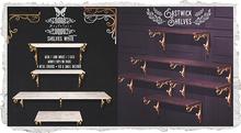 {Nostalgia} Eastwick Shelves / Shelf / Mesh / Decor / White
