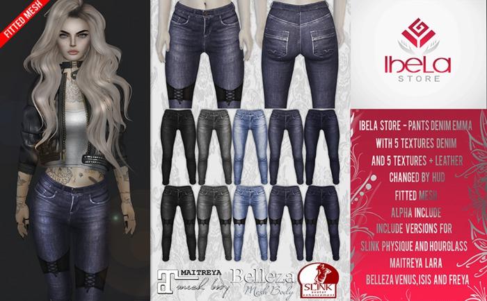 Ibela Store - Pants Denim Emma