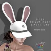 * FREE GIFT * Prism Easter Bunny Rabbit Ears Hat by Jezzixa Cazalet Mesh PROMO, GIFT, FREE