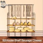PROMO PRICE! BSHouse-Shelf Sausage Cheese