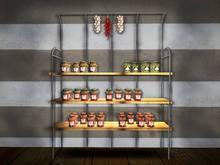 PROMO PRICE! BSHouse-Shelf Canned