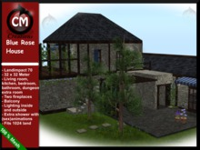 CM Creations, Blue Rose House. comes with dungeon!