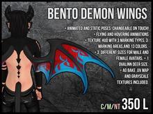 [M.O.R] bento demon wings