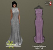 PRECAST Inc. - Long tight Dress - light pink