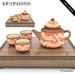 Artisan Tea Set Summer (Animated - Unique Mesh)