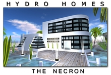 Hydro Homes - The Necron - 512 Modern House Houses Home Homes Prefab Prefabs shop shops store store