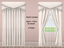 ALDA2 Open-Close by touch Mesh Curtain