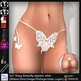 SLC Thong Butterfly Appliers white