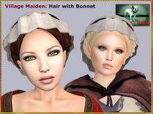 DEMO Bliensen + MaiTai - Village Maiden - Hair with Bonnet