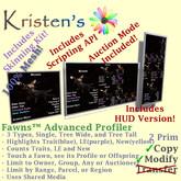 Kristen's @ - Fawns Advanced Profiler