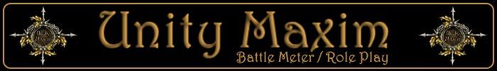 Unity maxim banner