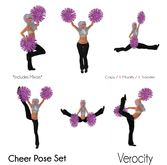 Verocity - Cheer Pose Set