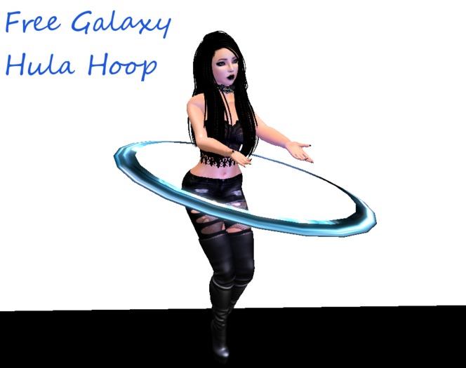 Free Galaxy Hula Hoop with Animation