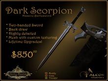 Dark Scorpion Sword Crate