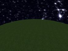 Empty Starry Skydome