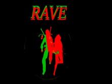 Dance RAVE Decor w/ Alternating Colors