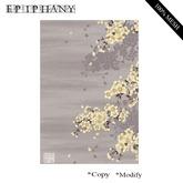 Carpet - Orient Grey Floral   (Mesh)