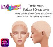 [KoKoLoReS] Tintable shaved Hairbase II - OMEGA applier