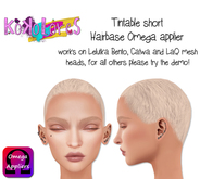[KoKoLoReS] Tintable short Hairbase - OMEGA applier