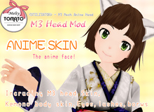 *Melty TOMATO* M3 Head Mod ANIME SKIN