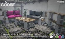 GOOSE - Construction bricks garden set