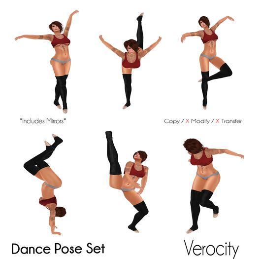 Verocity - Dance Pose Set