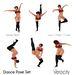 Dance pose set