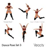 Verocity - Dance Pose Set 3
