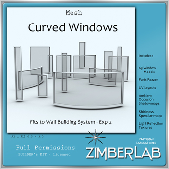 Window Mesh full perm - ZimberLab Builder's Kit A2