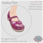 {V*Y} Audrey Flats - Pink Hearts