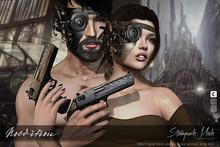 -NOeditiON- Steampunk Mask Black