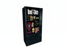 Band T Shirt Vending Machine Make Money