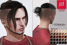-FABIA- Mesh Hair  <Tomas> Natural Tones