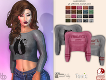 Bens Boutique - Cigdem Crop Top - Hud Driven