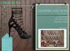"""Addams Women's Laced Shoes -Maitreya Belleza Slink- Mesh Shoe """"Guille"""" in Black"""