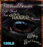 ~AppyBottoms~AppyLashies:: Teegle Natural Brown Eyes