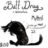 ~Mythril~ Teegle Animation: Butt Drag