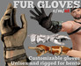 PFC~Fur gloves
