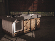 {BE} Island kitchen