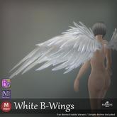 ::: B@R ::: White B-Wings (BENTO)