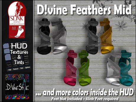 :: D!vine Style :: DiVine Feathers Medium