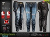 Destroy Female Women Fatpack Denim Ripped Jeans Pants - Mesh - Maitreya Lara, Slink Physique Hourglass, Belleza