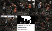 Black Cats poses - Basketball day FATPACK